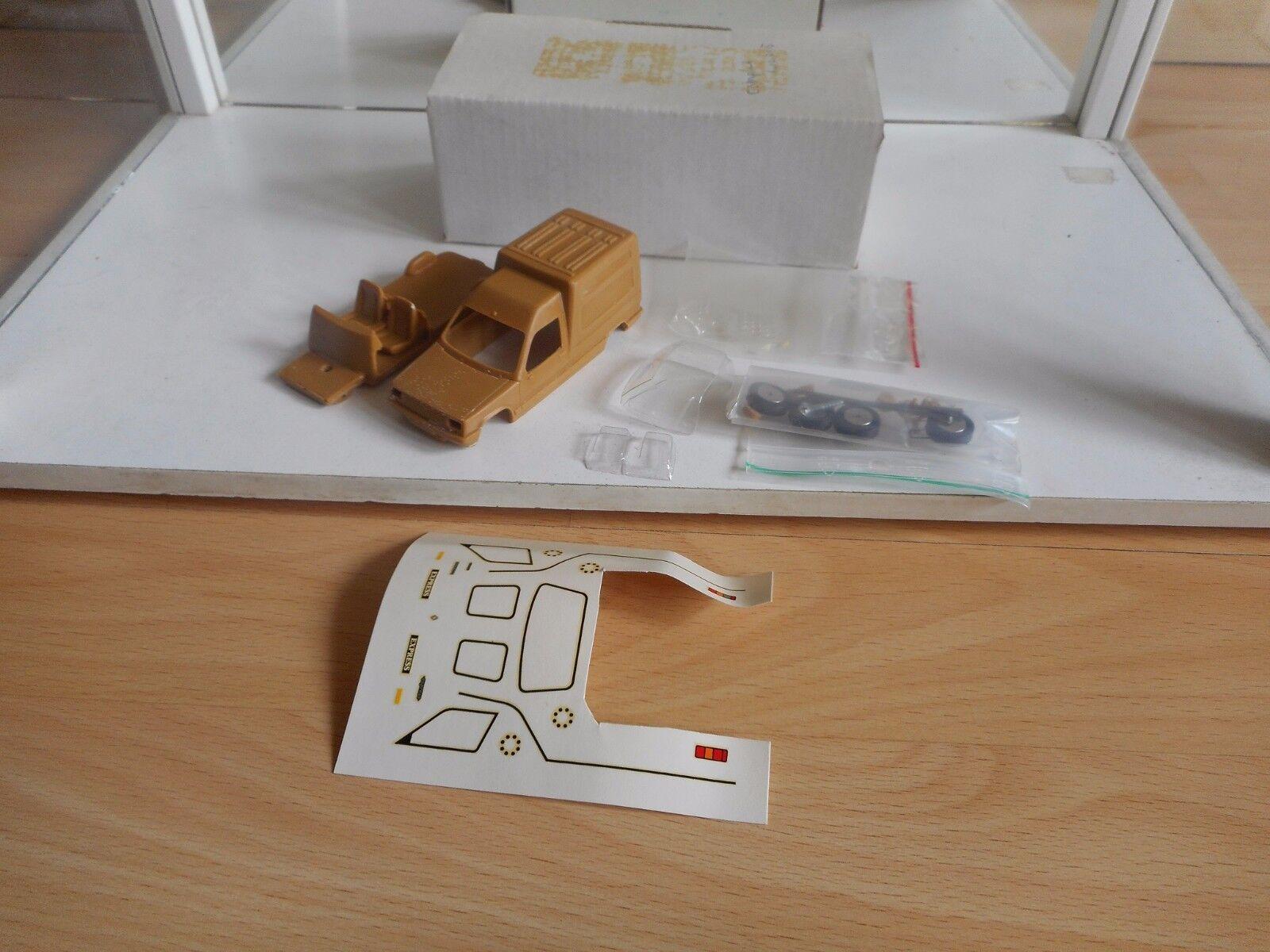 Model Resin Kit Alezan súper 5 Express Tole on 1 43 in Box
