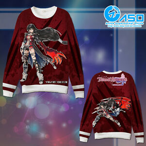 Anime Hoodie tales of berseria velvet crowe Casual warm Sweatshirt Coat Jacket