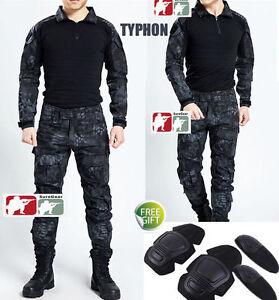 TYPHON-Gen3-G3-Combat-Suit-Shirt-Pants-Tactical-Airsoft-Uniform-OPS-SWAT-Kryptek