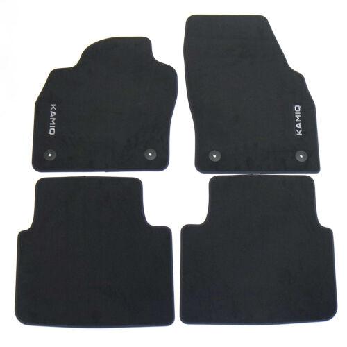 Original Skoda Premium Fussmatten Matten Textil Set 4teilig Kamiq 658061270
