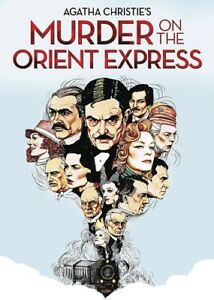 Murder-On-The-Orient-Express-New-DVD-Full-Frame-Mono-Sound-Repackaged-Sub