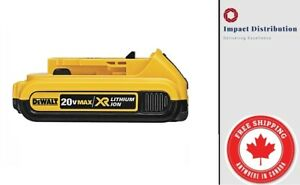 New-DEWALT-DCB203-20V-Max-2-0AH-Compact-XR-Li-Ion-Single-Battery-Pack