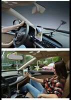 Double Car Mount/stand For Ipad/ipad Air/ipad Pro/tablet 7-13/phone 6/7