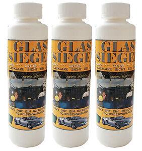 3-Flaschen-Glassiegel-Nano-Lotus-Effekt-Scheibenversiegelung-NEU