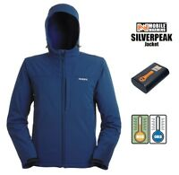 Mens Ansai Mobile Warming Battery Heated Electric Silverpeak Jacket Breathable