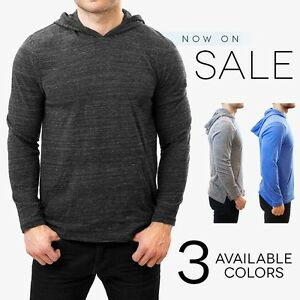 Alternative Apparel Marathon Hoodie Lightweight Pullover Tri Blend ...