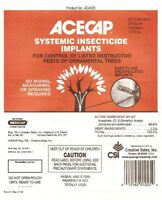 Acecap 25-pack Systemic Insecticide Tree Implants For Control Of Tree Pests, 3/8