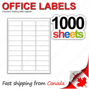 1000-Sheets-of-Address-Labels-1-039-039-x-2-5-8-039-039-30up-30000-Labels-FBA