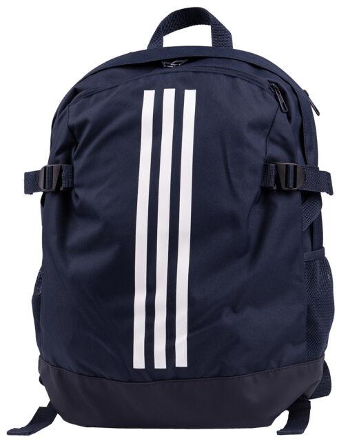 adidas 3 Stripe Power Medium Backpack - Navy for sale online  7bccffca96bdd