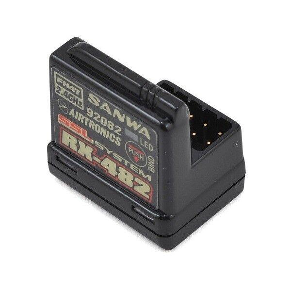 SANWA RX-482 FHSS4 SSL 4CH RICEVENTE CAR 4 CANALI 107A41257A