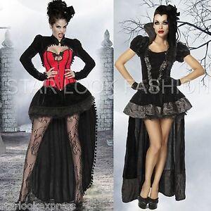 vampir kost m dracula damen hexenkost m karneval fasching. Black Bedroom Furniture Sets. Home Design Ideas