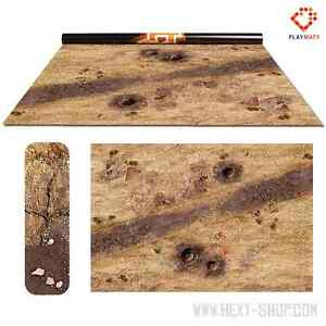 Rice Field 2 Double-Sided 72″ x 48″ Mat for Battle Games Infinity 2
