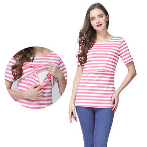 e26b882310c3d Image is loading Summer-Maternity-Clothes-For-Pregnant-Women-Nursing-Tops-