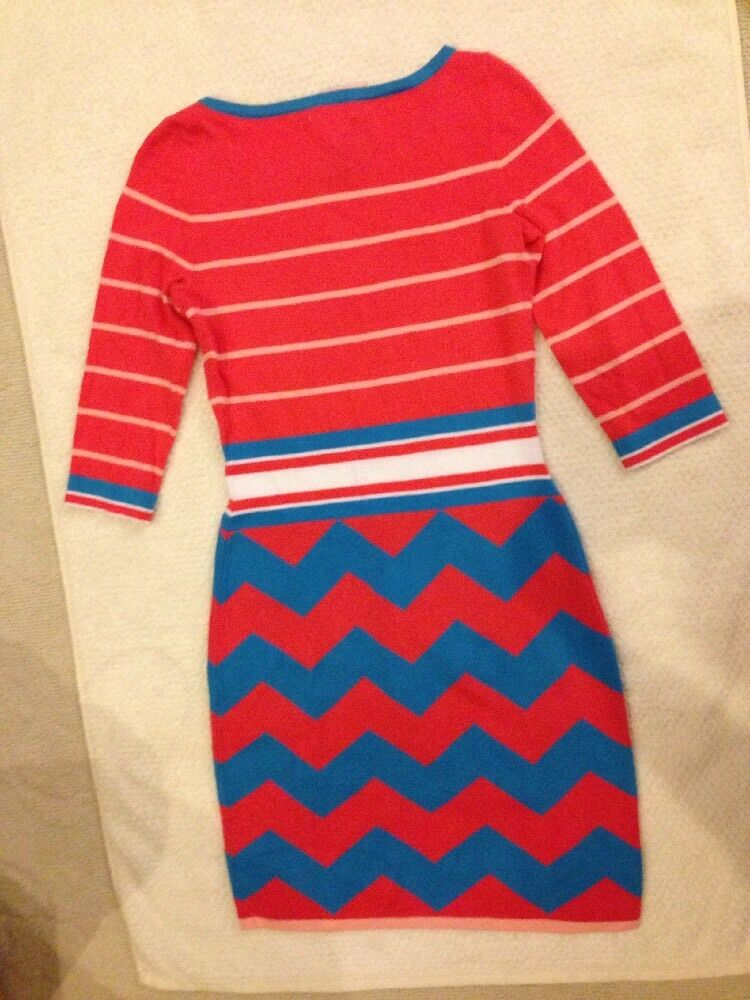 NWT Lilly Lilly Lilly Pulitzer women's Lindsay Sweater Dress Size S 95% Cotton Splash Pink 593157