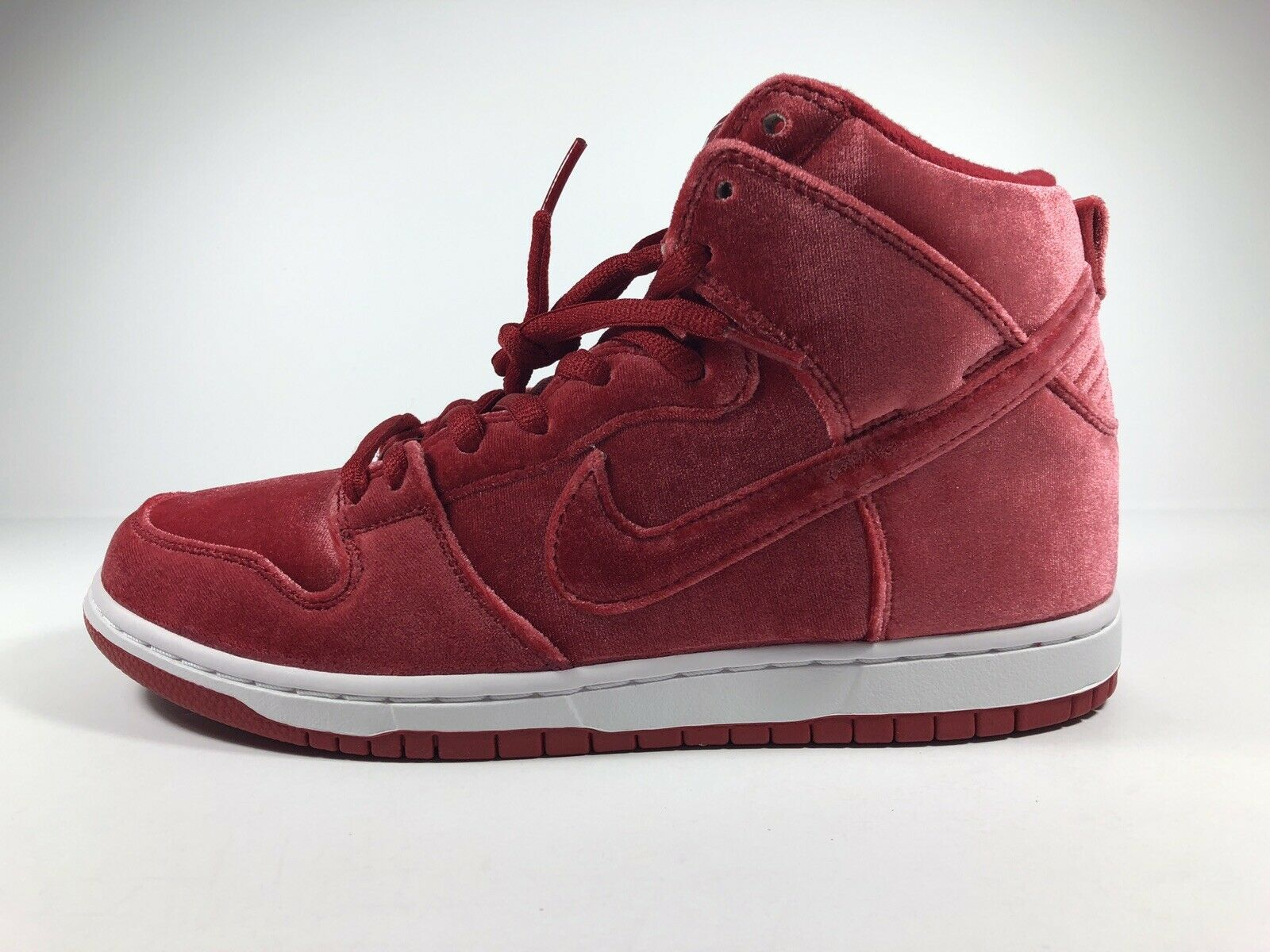 Nike Dunk High Premium SB Gym Red   White Size 8.5 313171 661