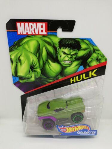 Voiture miniature Hotwheels Hulk Marvel Mattel
