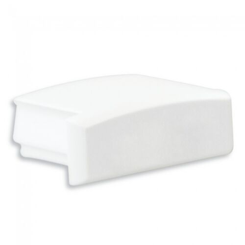 PL1 Anser Endkappe ohne Kabelausgang Weiß