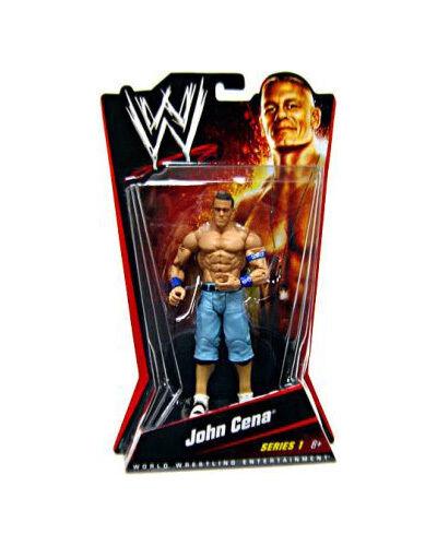 Official Mattel WWE Basic Series 1 - - - John Cena Wrestling Action Figure 03094d