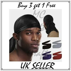 men s durag du rag bandana sports du rag scarf head rap tie down