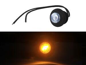 2x-LED-Klarglas-Seitenmarkierungsleuchten-Umrissleuchte-12V-24V