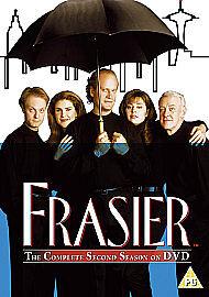 Frasier-Series-2-DVD-4-Disc-Box-Set-Kelsey-Grammer-Brand-New-Sealed