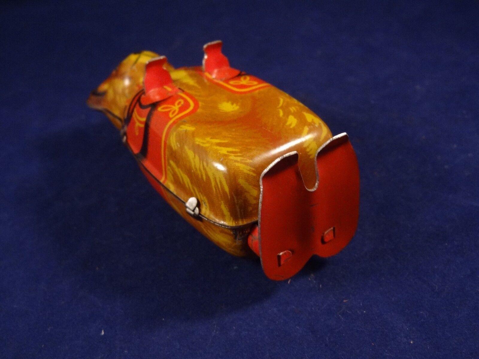 Ancien jouet rare ours mécanique tôle litho J. Höfler GerFemmey GerFemmey GerFemmey Us zone cirque 50 65c4b1