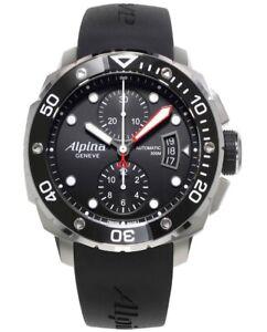 ALPINA Herrenuhr Automatik Chronograph AL-725LB4V26 Extreme Diver