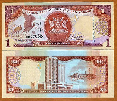 Trinidad and Tobago 10 Dollars P 57a 2016 2006 UNC Low Shipping Combine P 57 a
