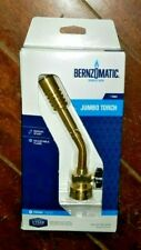 Bernzomatic Jumbo Torch Manual Start With Adjustable Flame Item Jt680