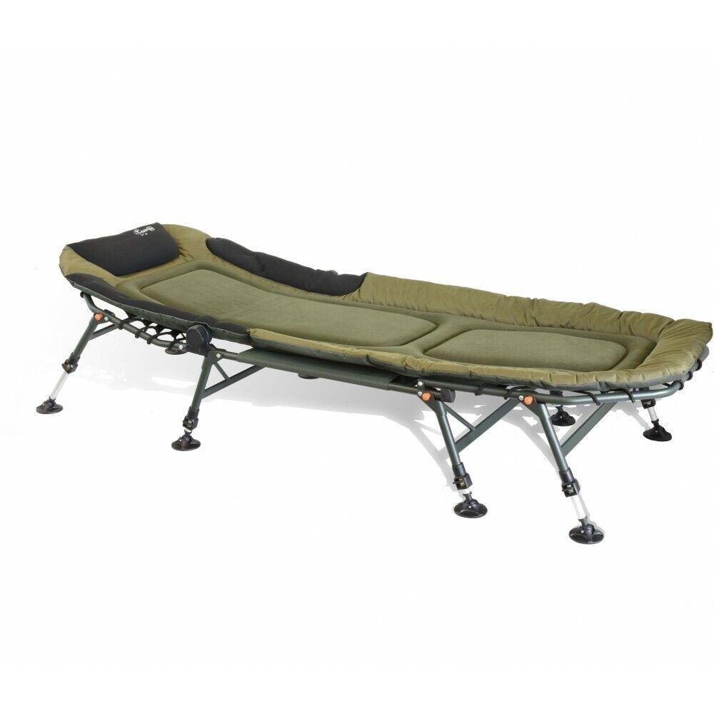 Carpon Lettino 8bein Classic Lusso Bedchair Appoggiare le Carpe Campeggio 80 Cm