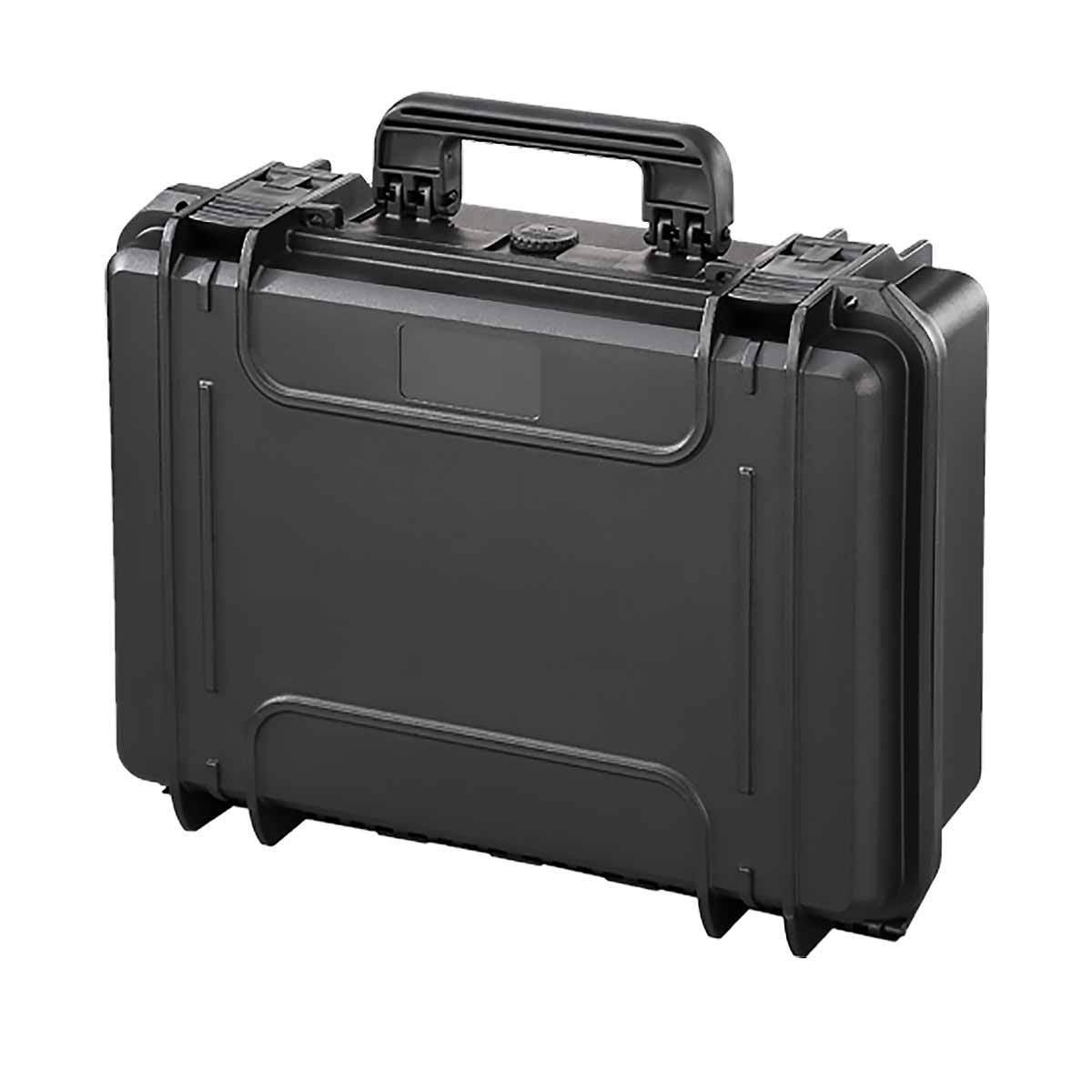 Max MAX300S Waterproof Laptop Travel Briefcase Hard Case Box With Foam Black