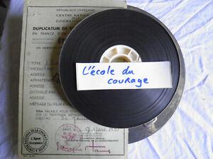 Film-16mm-Documentaire-034-L-039-ecole-du-courage-034-annees-50