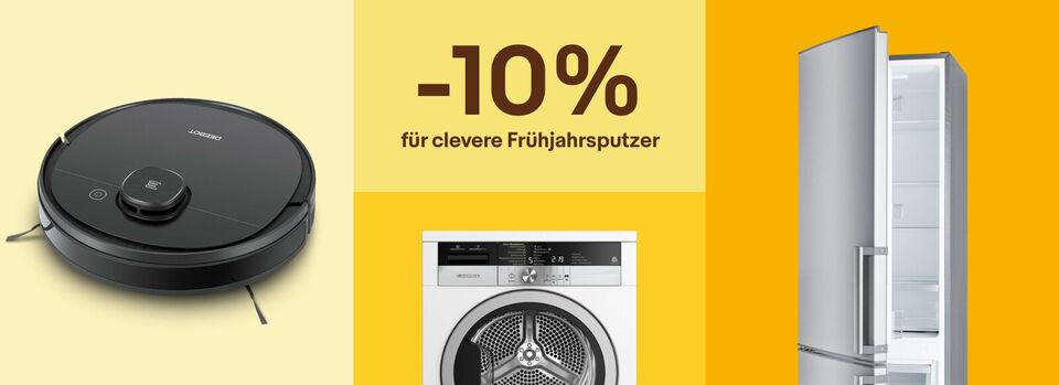 Waschen. Saugen. Spülen. Sparen! – Putzbonus sichern - Waschen. Saugen. Spülen. Sparen!
