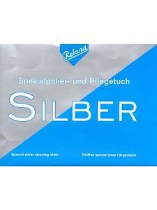 Rekord Spezial Silber Polier Und Pflegetuch Poliertuch Silberputztuch Neu StraßEnpreis