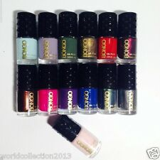 Lot of 13 Bongo Nail Polish Assorted Colors ( as seen in picture)