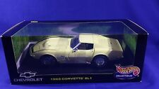 1969 Chevrolet Corvette YELLOW ZL1 1:18 Hot Wheels 21355