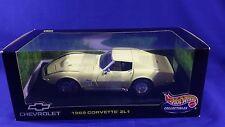 1969 Chevrolet Corvette YELLOW ZL1 1:18 Hot Wheels 21355