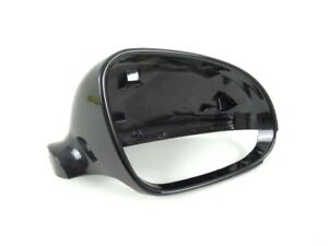 VW-Passat-2005-2010-New-Drivers-Wing-Mirror-Cover-Painted-Black-LC9X