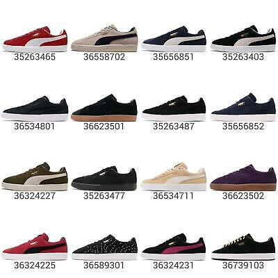 Puma Suede Classic Low Mens Womens Classic Shoes Sneakers Pick 1 | eBay