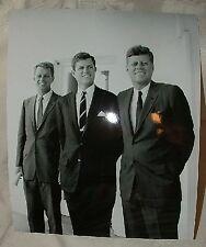 1963 Jack John Fitzgerald Bobby Robert Ted Edward Kennedy JFK RFK EMK 8x10 PHOTO