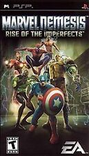 Marvel Nemesis Rise of the Imperfects UMD PSP GAME SONY PLAYSTATION PORTABLE