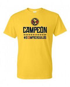 ecd6ff024dc Image is loading Siempre-Aguilas-del-America-FC-Soccer-T-shirt-