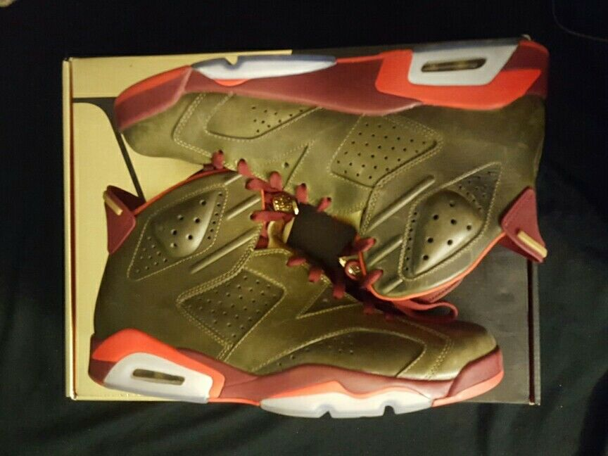 Jordan 6 champion cigar size 11
