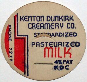 Lot of 50 Vintage Milk Dairy Bottle Caps Farmers Coop Creamery Co Humboldt SD