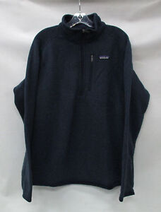 Patagonia Mens Better Sweater 1/4 Zip Pullover 25522 ...