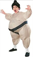 Sumo Wrestler Inflatable Child Costume Standard Halloween One Size Fits Most