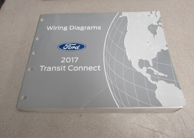 2017 Ford Transit Connect Electrical Wiring Diagram Serive Manual