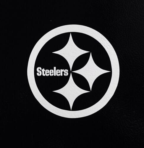 "2X Pittsburgh Steelers 5/"" Sticker Decal Car Window Die-cut Sticker NFL Football"