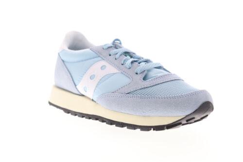 Saucony Jazz Original Vintage S60368-41 Womens Blue Low Top Sneakers Shoes