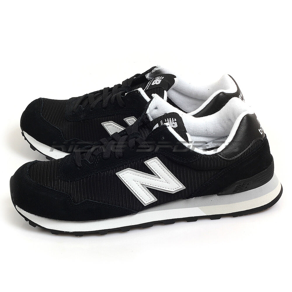 New Balance ML515RSC D Black & White Classic Suede Lifestyle Sneakers 2017 NB